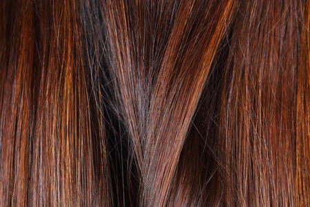 blond streaks: it is hair texture for pattern and background. Stock Photo