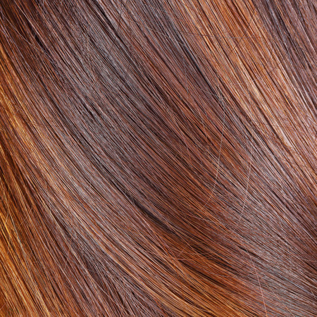 blonde streaks: it is hair texture for pattern and background. Stock Photo