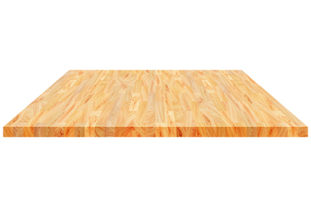 It Is Wooden Floorstage Or Shelf Isolated On White Stock Photo