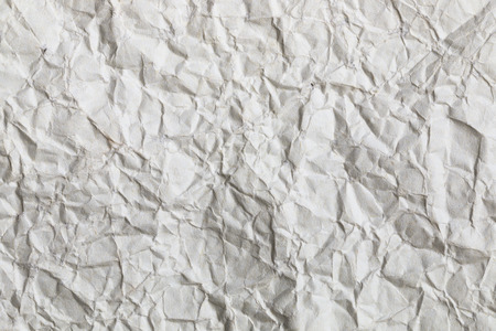 it is wrinkled white paper texture for pattern and background.