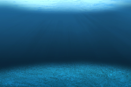 it is empty underwater for pattern and background.