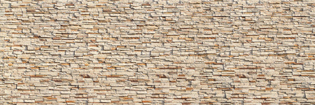 it is horizontal modern brick wall for pattern and background. Imagens