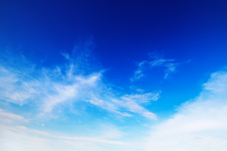 it is beautiful soft white cloud on blue sky.