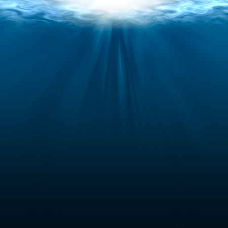 it is empty underwater for background and design.
