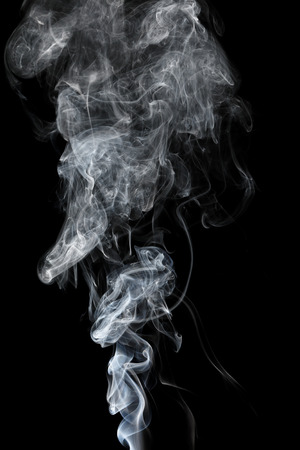 float cloud: it is white smoke isolated on black.