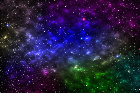 it is empty galaxy for background and design,element of this image furnished by nasa.