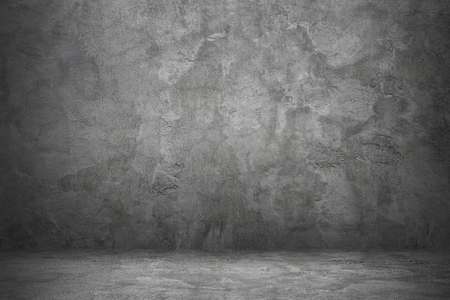dirty room: It is concrete wall and floor for background and design.