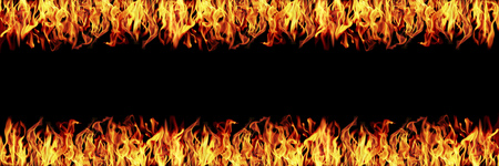 it is horizontal fire flame for background and design.