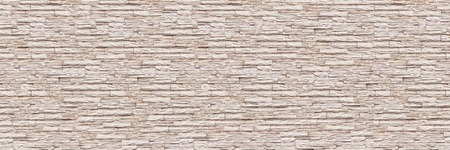 horizontal modern slate brick wall for pattern and background.