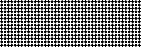 horizontal black and white checked sport or racing flag for background and design. Çizim