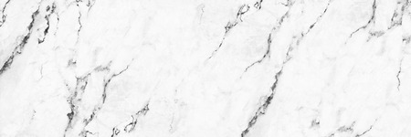 horizontal elegant white marble texture for pattern and background. Stok Fotoğraf
