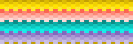 horizontal seamless colorful square texture for pattern and background.