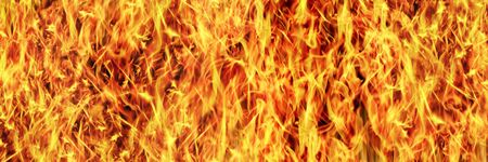 horizontal fire texture for pattern and background.