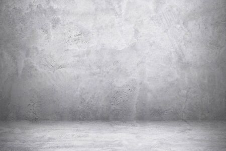 cement wall and floor with shadow for pattern and background. Stockfoto