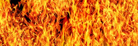horizontal fire design for pattern and background.