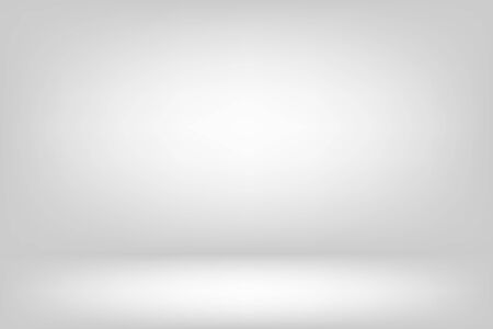 abstract white wall and floor room and studio for pattern and design. 版權商用圖片
