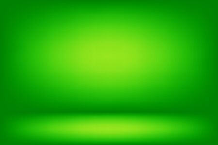 abstract green wall and floor room and studio for pattern and design.