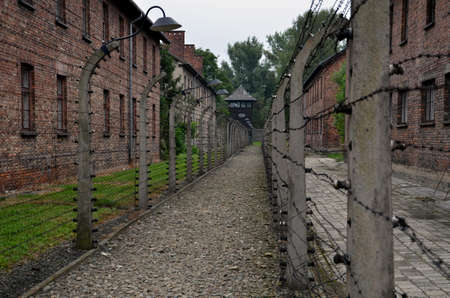 detail in nazi concentration camp in Poland
