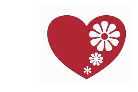 red heart Stock Photo - 13476105