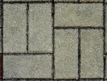 pavement above