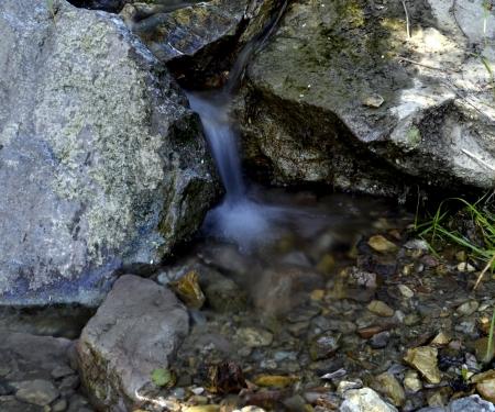 stream of pure water Stock Photo
