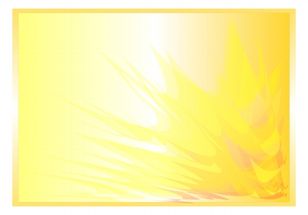 yellow background abstract rays photo