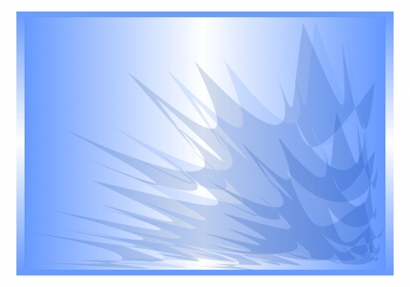 background abstract blue rays Stock Photo