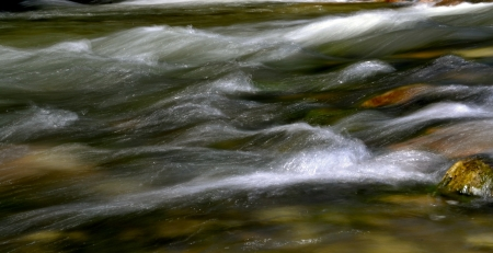 flowing river Stock Photo