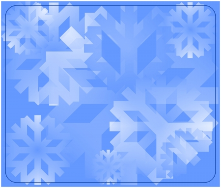 snow flake background photo