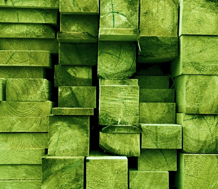 joists: texture cut spruce joists painted light green color