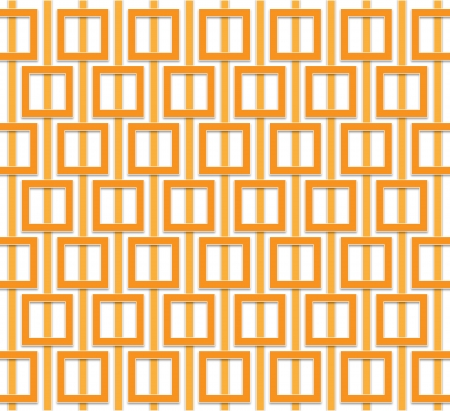 regularly: Abstract pattern of orange squares regularly distributed over the area