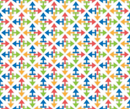 background or texture arrows starshaped pattern versicolor