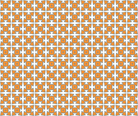 background or texture of a four star tip of orange color