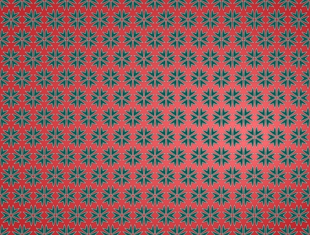 background or texture red Christmas paper star green Stock Photo