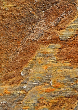 texture or background orange ocher limestone rock