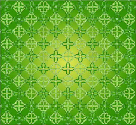 background or pattern green and yellow spring meadow Stock Photo
