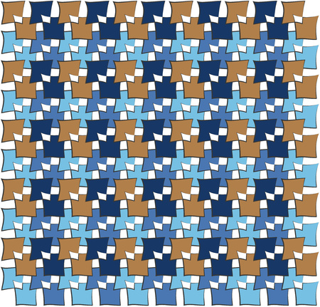 trapezoid: background or paper irregular squares color pattern