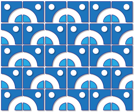 background or fabric blue color tile pattern photo