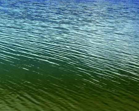 abstract background or texture green and blue water level