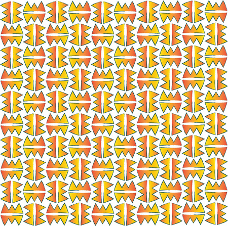 background or fabric inspired by the indian native pattern Stock Photo
