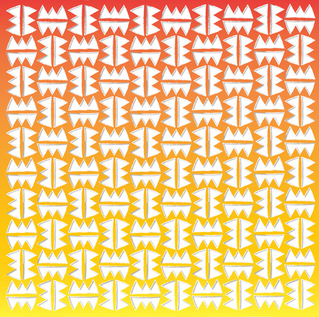 decorative background: background or fabric inspired by the Mexican pattern Stock Photo