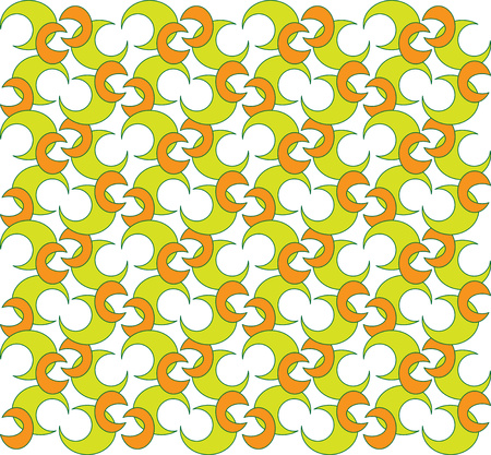 background or fabric Summer moon pattern