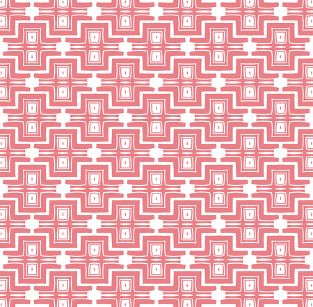background or fabric abstract inca pattern pink color photo