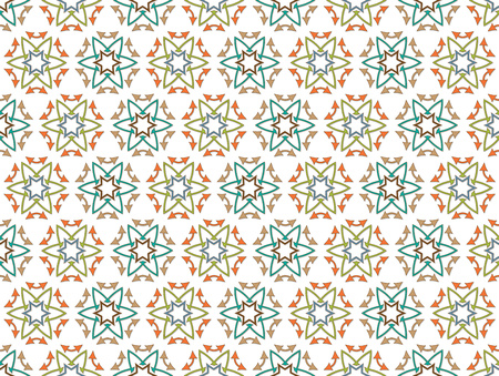 abstract background or fabric arrows flowers pattern photo