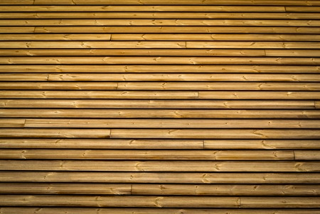 background or texture horizontal wood slats pine brown color