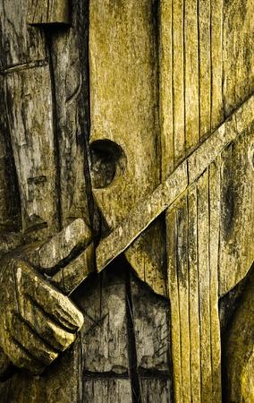 violinista: resumen de antecedentes de edad tallada detalle violinista madera