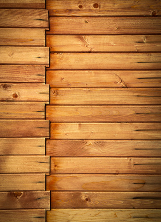 paneling: background or texture wooden paneling profile Stock Photo