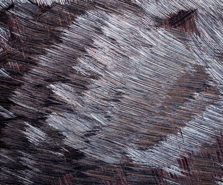 heavy effect: abstract background or texture brown grinded iron