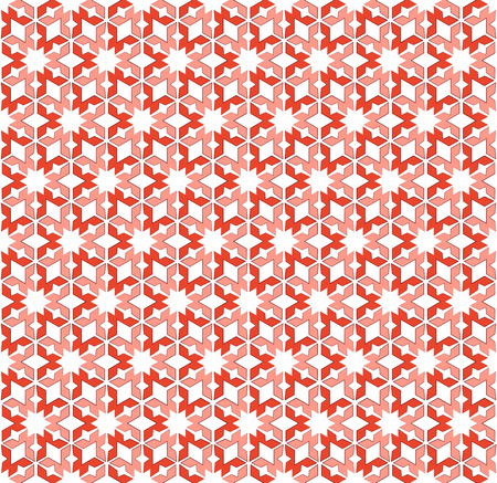 hexagonal pattern: Abstract background or hexagonal pattern pink red textile