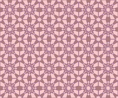 flowered: background or texture abstract old pink flowered pattern